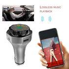 AP06 Wireless V4.2 Car MP3 Player FM Transmitter Support TF U-disk USB Charger O