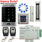 Waterproof RFID Card+Password Door Access Control System+Magnetic Door Lock