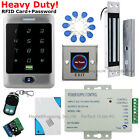 USA Waterproof RFID Card+Password Touch Door Access Control System+Magnetic Lock