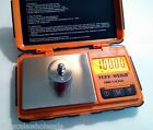 Pocket Scale with 100 Gram Calibration Weight TUF-100 0.01g TUFF Rubber Grip
