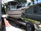 1995 Robalo 21 center console with double Axel continental trailer included,