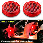 Wireless LED Door Open Warning Anti Collid Signal Flash Light For Car
