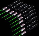 10x 1mw 532nm Lazer Visible Beam Light Green Laser Pointer Pen Pro