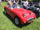 1959 Austin Healey Sprite  1959 Austin Healey Bugeye Sprite Tartan Red