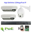 16CH 5MP NVR 1920X2592P Security System 15 389*9 PoE IP 1pcs PTZ Camera Outdoor