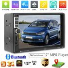 """7"""" Android 6.0 Car Radio Stereo MP5 Quad Core 3G WIFI Double 2DIN Player GPS AO2"""