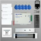 RFID Door Access Control Kit + 600 Lbs Electromagnetic Lock + Remote Control NEW