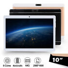 10.1'' Tablet PC Android 4.4 Octa 8 Core 4+64GB 10'' Bluetooth HD WIFI Phablet