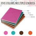 Premium Soft PU Leather A5 Portable Notebook Writing Journal Business Notepad TS