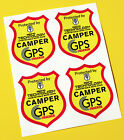 CAMPERVAN GPS TRACKER UNDETECTABLE CHIP anti theft SECURITY stickers decals