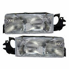 VISION CONDOR CLASS A 2003 2004 PAIR HEADLIGHTS HEAD LIGHTS FRONT LAMPS RV
