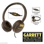 Garrett ClearSound Metal Detector Headphones w Volume Control - 1612700 - NEW