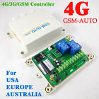 4G / 3G GSM-AUTO GSM Controller Double big Power Relay Switch Remote Controller