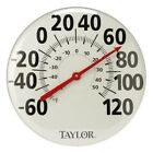 NEW Taylor 681 18in Patio Thermometer Analog Metal
