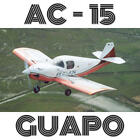 AC-15 GUAPO - PLANS AND INFORMATION SET FOR HOMEBUILD AIRCRAFT - SIMPLE & CHEAP