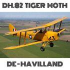 DH.82 TIGER MOTH DE-HAVILLAND ORIGINAL PLANS!!! 1007 PAGES!!! LEGENDARY BIPLANE!