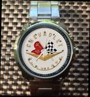 Vintage !! 1957 Chevrolet Corvette Emblem Watches