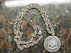 HARLEY DAVIDSON*WILLIE G*NECKLACE*STERLING SILVER*CLASP*WORN VERY CAREFULLY