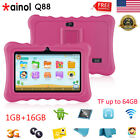 """7"""" HD Tablet PC Android QuadCore 16GB WIFI+3G 2*Cam Bundled Case Learning Pad US"""