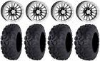 """ITP SD Beadlock 14"""" Wheels 26"""" Bajacross Tires Textron Wildcat XX"""