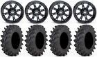 "STI HD4 14"" Wheels Matte Black 30"" Outback Max Tires Textron Wildcat XX"