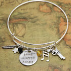 Young Scrappy and Hungry Alexander the Musical Inspired Lyrics Charm bracelet
