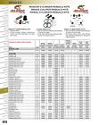 All Balls 18-7008 Brake Pad Retaining Pin Kit For 2001 Honda CR80R