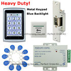 Metal RFID Card & Password Door Access Control System+Electric Strike Lock BEST
