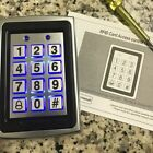 125KHz RFID Card+Password Metal Entry Door Access Control Keypad with Backlight