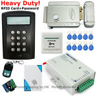 125KHz RFID Card+Password Door Access Control System+Electric Lock Top Quality