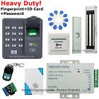 New Fingerprint+RFID Card+Password Door Access Control System+Door Magnetic Lock
