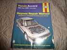 Haynes 42011 Honda Accord 1984 - 1989 Repair Manual