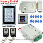 RFID Card Password Security Door Access Control Kit+Electric Control Lock+Remote