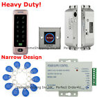 Waterproof RFID Card & Password Door Access Control System+Electric Bolt Lock