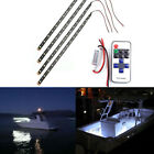 Boat Motorcycle Car Wireless Remote 15 LED Light Strip White SMD RGB 3528 12v