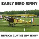 CURTISS JN-4 JENNY 2/3 REPLICA - PLANS AND INFORMATION SET FOR HOMEBUILD BIPLANE