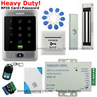 Waterproof 125KHz RFID Card+Password Door Access Control System+Magnetic Lock