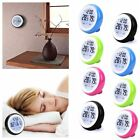 Humidity Meter Temperature Gauge Time Clock With Backlight Thermometer