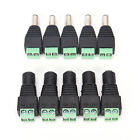 1Pairs Male Female 2.1x5.5mm DC Power Plug Jack Adapter Connector for CCTV FD