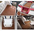 "21.7""X94""EVA Foam Teak Sheet Flooring Boat Car Self-Adhesive Pad Thickness 0.24"""