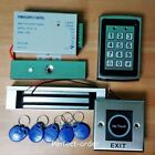 Metal RFID Card Password Door Access Control System+Magnetic Lock+IR Exit Button