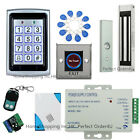 New RFID Card +Password Door Access Control System+Magnetic Lock+Remote+Doorbell