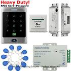 Waterproof RFID Card + Password Door Access Control System + Electric Bolt Lock