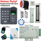 Fingerprint+RFID Card Doro Access Control System+Magnetic Lock+Door Sensor+Siren