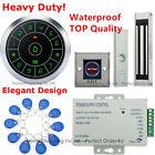 Waterproof RFID Card + Password Access Control System + Waterproof Magnetic Lock