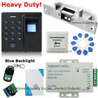 Fingerprint + RFID Card + Password Door Access Control System+Strike Lock+Remote