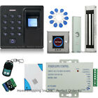 Fingerprint + RFID Card + Password Door Access Control System + Magnetic Lock