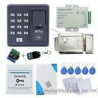 Fingerprint +RFID Card +Password Door Access Control System+Electric Lock+Remote