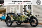 2018 Ural Gear Up 2WD Woodland Camouflage Classic Woodland Camoflauge Ural Gear Up at AlphaCars & Ural of New England (NH)
