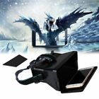 """VR Virtual Reality 3D Video Movie Game Glasses For 4-6.5"""" Smart Phones US-AS"""